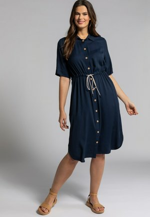 Shirt dress - marine