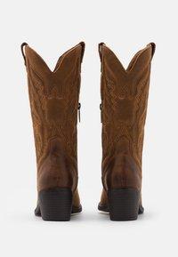 mtng - TANUBIS - Cowboy/Biker boots - brown - 3