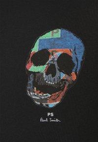 PS Paul Smith - SLIM FIT TSHIRT SKULL - Print T-shirt - black - 5