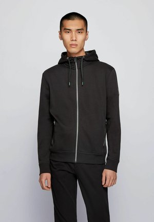 ZKYNORTH - Zip-up hoodie - black