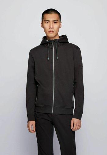 ZKYNORTH - Zip-up hoodie - black