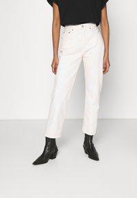 Levi's® - 501 CROP - Slim fit -farkut - in the peach - 0