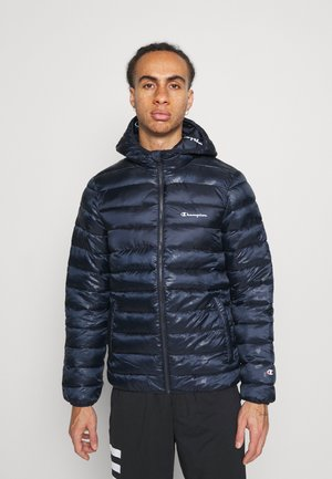 LEGACY HOODED JACKET - Chaqueta de invierno - dark blue