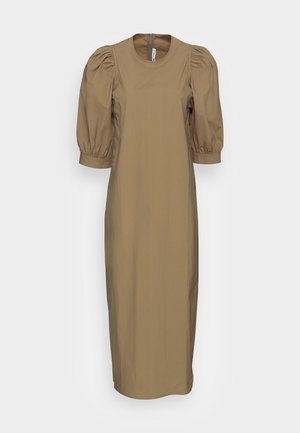 CELESTINA LONG DRESS - Freizeitkleid - covert green