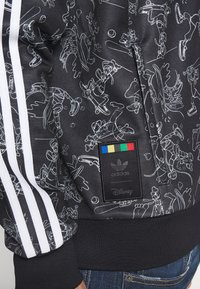adidas Originals - GOOFY - Bomber Jacket - black/white - 5