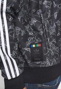 adidas Originals - GOOFY - Bomber bunda - black/white - 5