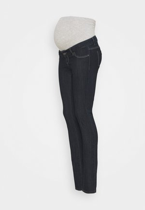 MLJULIA UNWASHED - Slim fit jeans - dark blue denim