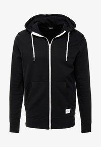 MORGAN ZIP - Bluza rozpinana - black