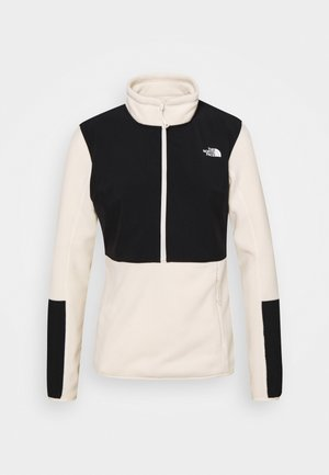 DIABLO MIDLAYER ZIP - Fleece jumper - vintage white/black