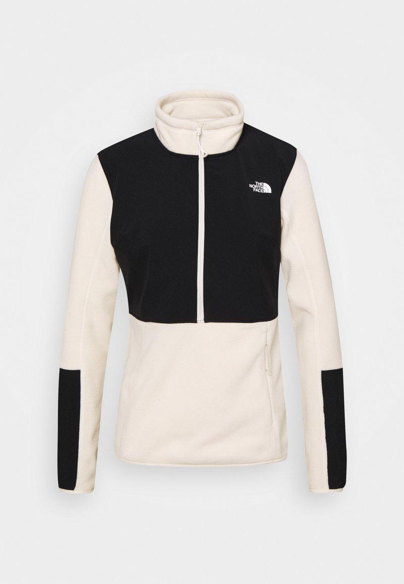 The North Face - DIABLO MIDLAYER ZIP - Fleece jumper - vintage white/black