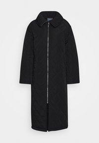 Lindex - COAT ANDIE QUILT - Klasický kabát - black - 4