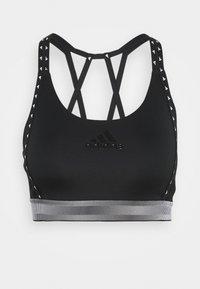 BRANDED - Medium support sports bra - black