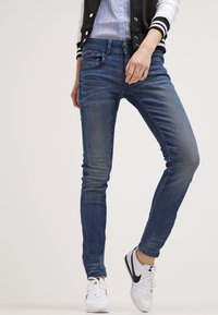 G-Star - LYNN MID SKINNY - Jeans Skinny Fit - frakto supertretch - 3