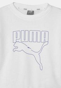 Puma - REBEL CREW UNISEX - Mikina - puma white - 2