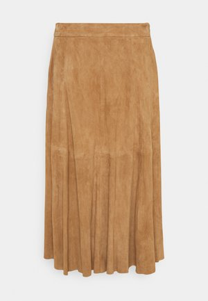 SKIRT - Áčková sukně - montana khaki