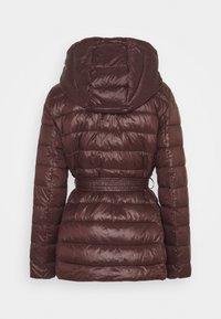 Vero Moda - VMSORAYALYDIA JACKET  - Winter coat - chocolate plum - 1