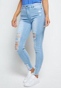 SIKSILK - Jeans Skinny Fit - ice blue - 0