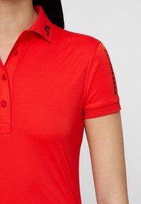 J.LINDEBERG - TOUR TECH - Sports shirt - light red - 4
