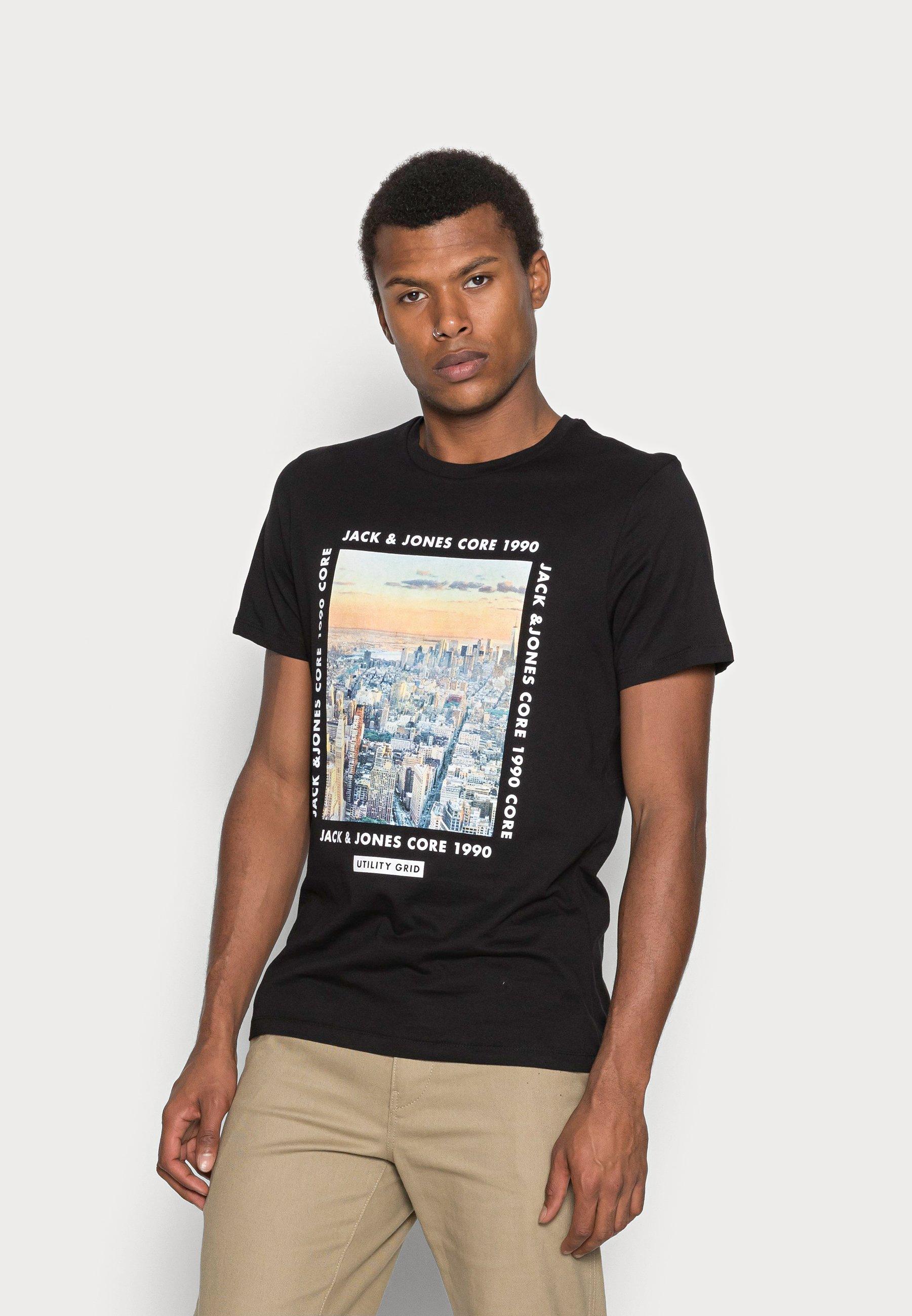 Men JCOBOOSTER TEE CREW NECK - Print T-shirt