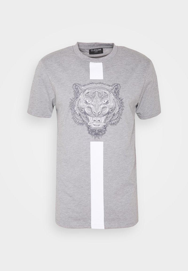 CLOSURE London - FURY TEE - T-shirt imprimé - grey