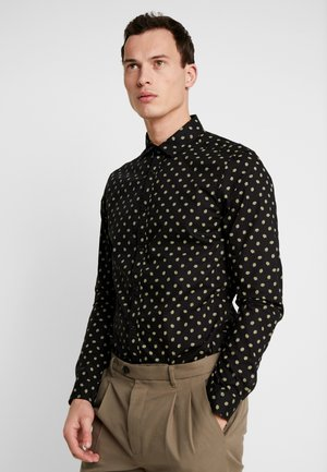 BLAUW LIGHT WEIGHT SHIRT WITH PRINTS - Skjorta - dark blue