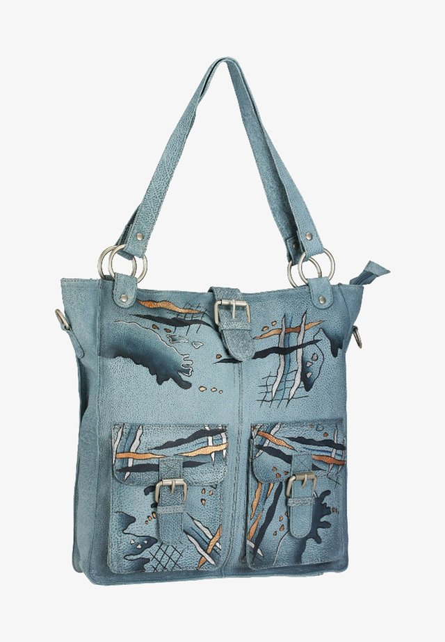ART + CRAFT  - Shopping bag - light blue