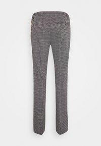 LIU JO - PANTALONE CIGARET - Pantalon classique - black/white - 1