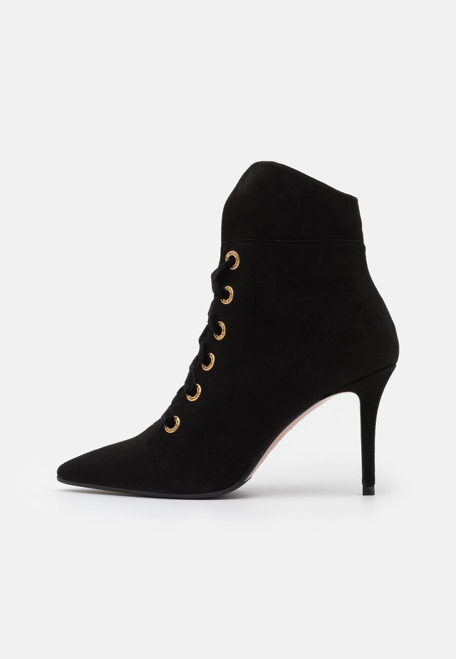 LUISA  - High heeled ankle boots - nero