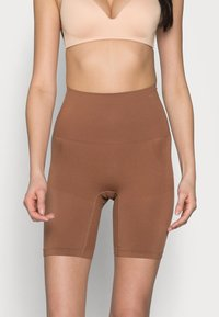 Cotton On Body - SMOOTHER SHAPER HIGH WAIST SHORT - Shapewear - cappucino - 0