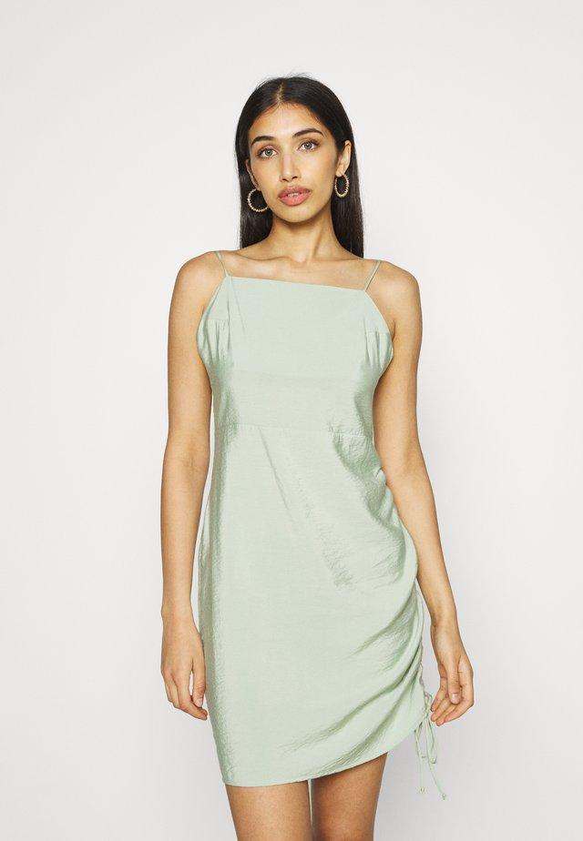 ENOREGANO DRESS - Cocktailjurk - faded green