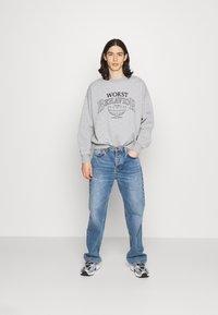 WRSTBHVR - SWEATER CITIZEN UNISEX - Sweatshirt - grey melange - 1