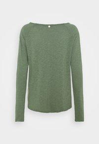 Rich & Royal - HEAVY LONGSLEEVE - Long sleeved top - eukalyptus - 1