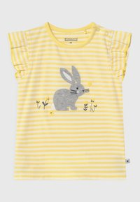 Staccato - 2 PACK - Print T-shirt - white/yellow - 2