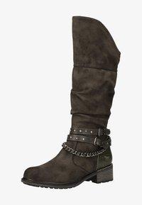 Mustang - Cowboy/Biker boots - dunkelgrau 20 - 0