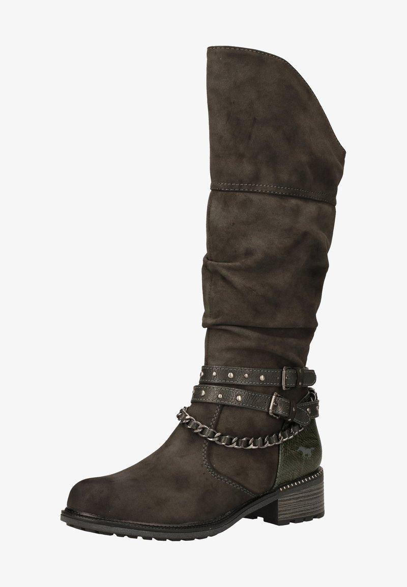 Mustang - Cowboy/Biker boots - dunkelgrau 20
