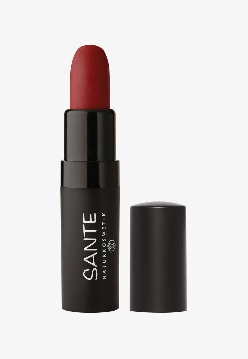 Sante - LIPSTICK MAT MATT MATTE - Lipstick - 04 kiss-me red