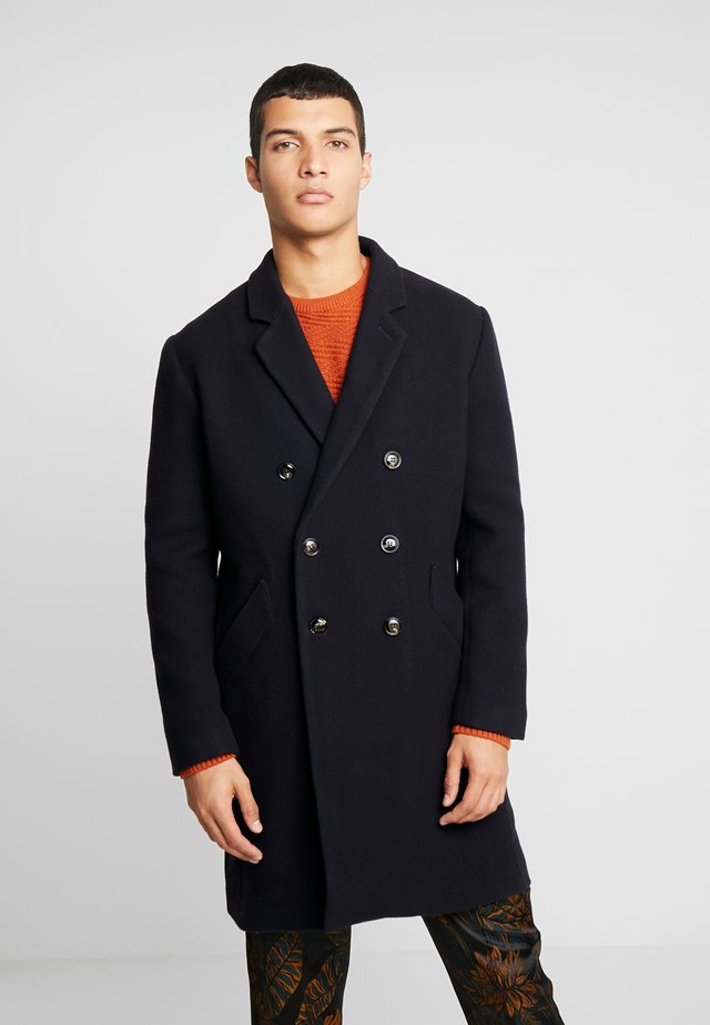 RASMUS - Classic coat - navy blue