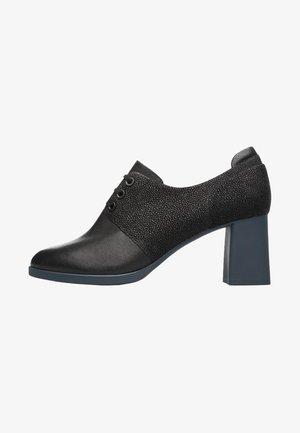 KARA - Lace-up heels - black