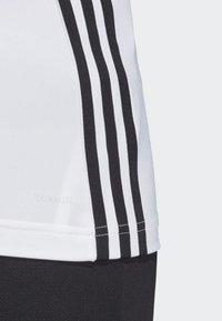 adidas Performance - TANK - Sportshirt - white/black - 5