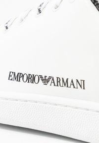 Emporio Armani - Trainers - white/black - 2