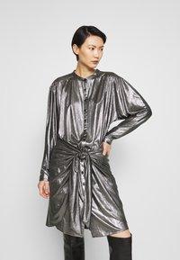 Rebecca Minkoff - WILLOW DRESS - Cocktail dress / Party dress - gunmetal - 0