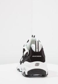Skechers Sport - DLITES - Sneakers basse - black/white - 3
