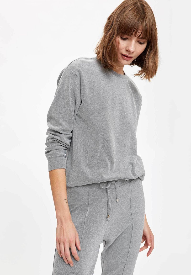 DeFacto - Maglietta a manica lunga - grey