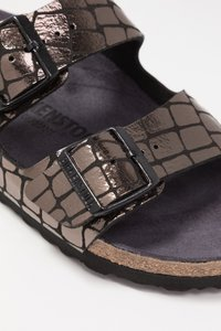 Birkenstock - ARIZONA - Slippers - gator gleam black - 2