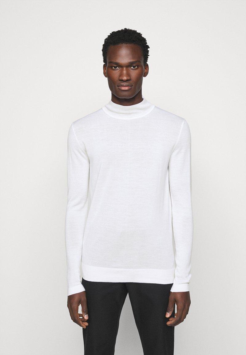 J.LINDEBERG - NEAL TURTLENECK - Stickad tröja - cloud white