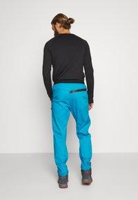 Salewa - AGNER - Spodnie materiałowe - blue danube - 2