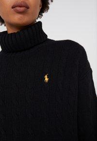 Polo Ralph Lauren - BLEND - Strickpullover - black - 5