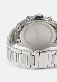 BOSS - DISTINCT - Chronograph watch - silver-coloured/black - 1
