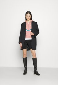 Nike Sportswear - Zip-up sweatshirt - rust pink/white - 1