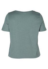 Zizzi - Basic T-shirt - green - 5